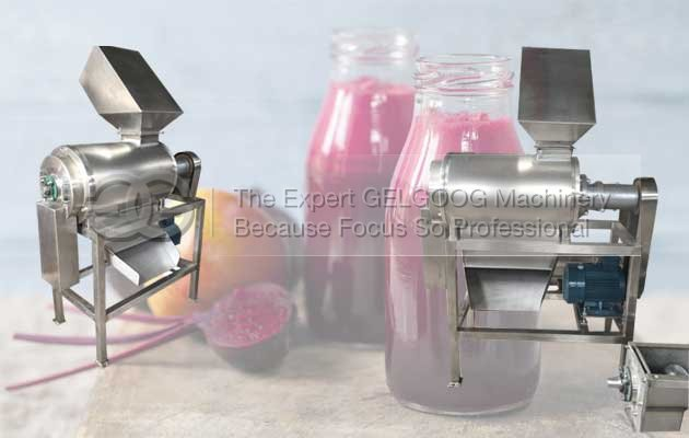 mango pulp extractor machine