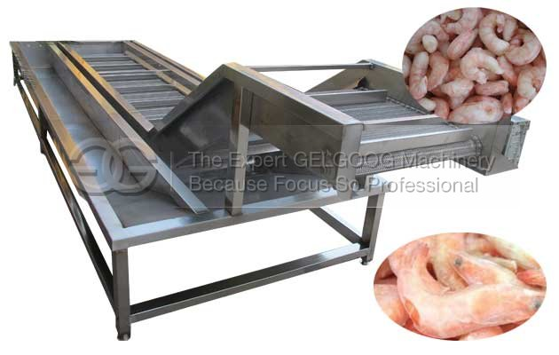 frozen seafood ice glazing machine for sale