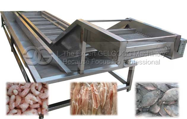 hot sale seafood ice coating machine china supplier