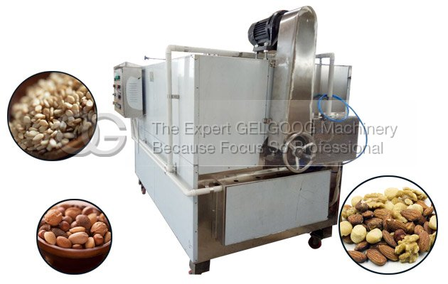 automatic sesame seeds roasting machine electric heating