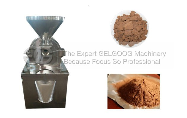 cocoa powder process machine