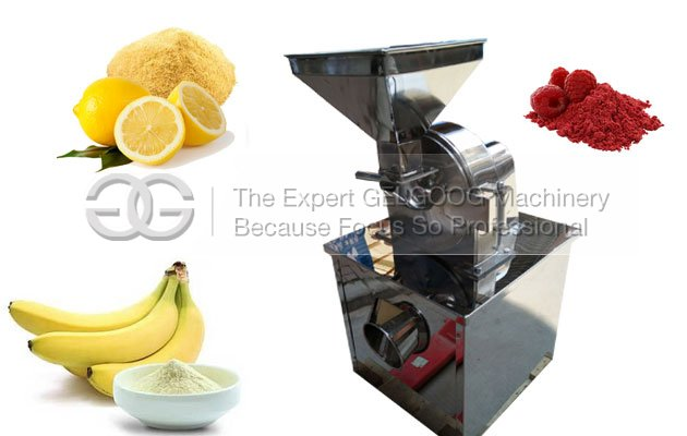 dired fruit powder making machine