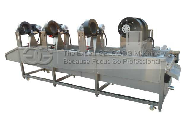 fruit vegetable air cooling and drying machine