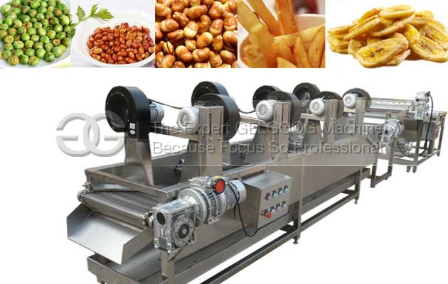 fried food air cooling machine price