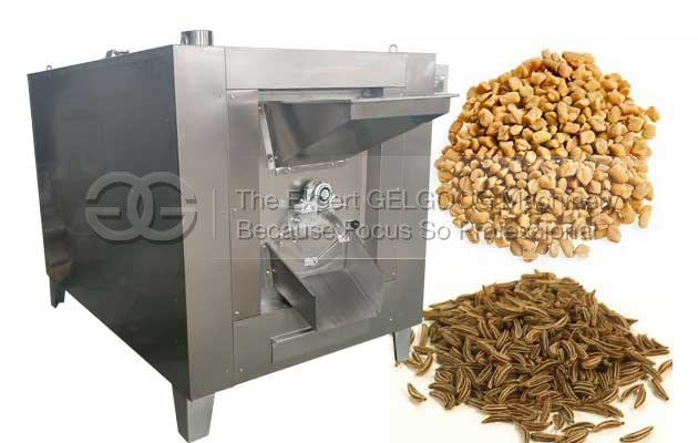 flax seed roasting machine