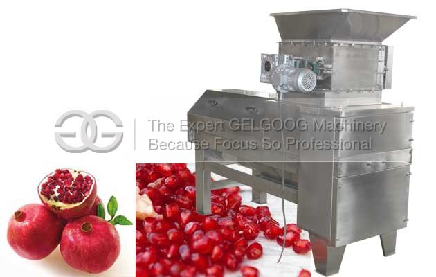 pomegranate aril separator machine