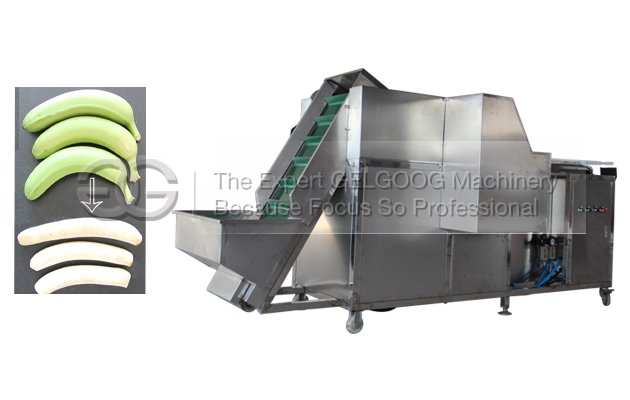 automatic banana peeling machine