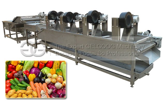 Fruit and Vegetable Washing Drying Machine