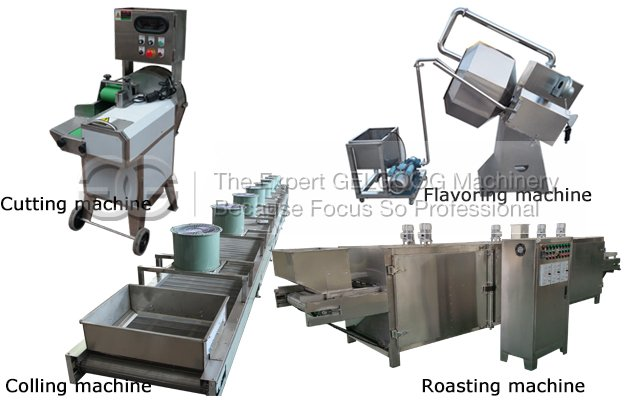 automatic coconut chips production line