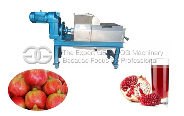 pomegranate juice making machine