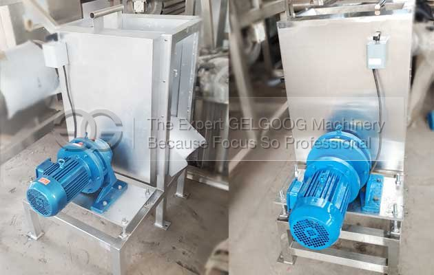 coconut skin peeling machine sold to india