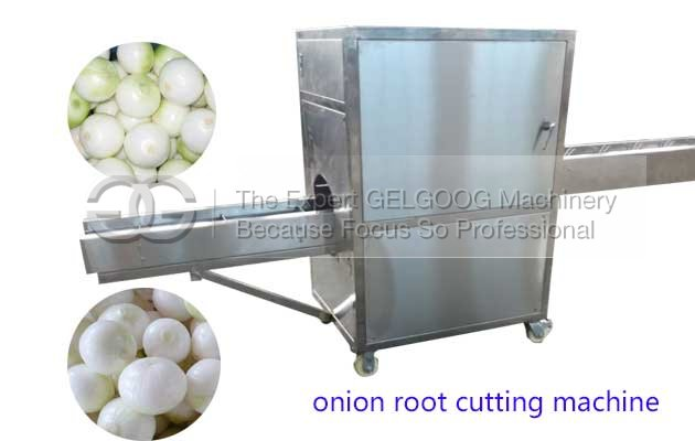 image of onion root cutting machine