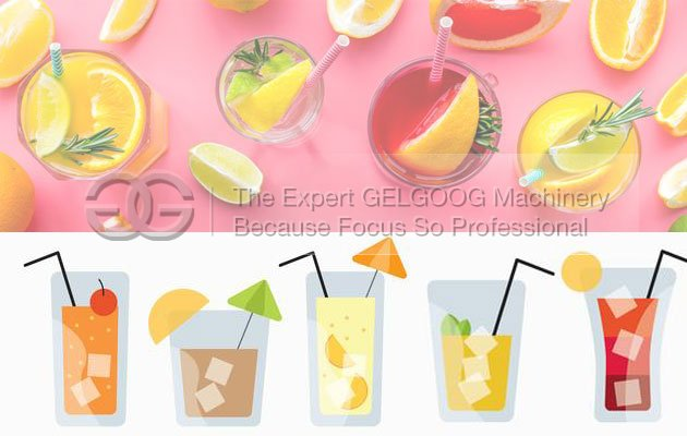 4 types of the drinks