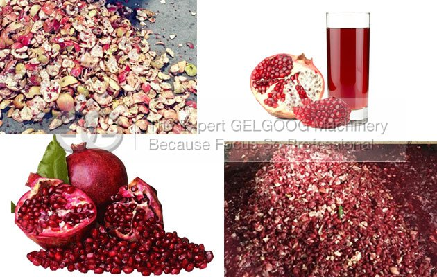 How do you remove the seeds from a pomegranate