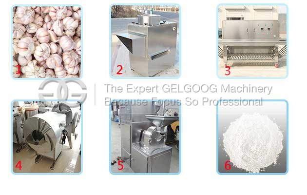 garlic podwer production line