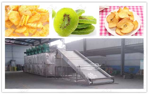 machine for drying fruit and vegetables