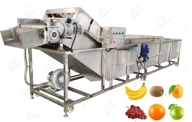 automatic fruit washing machine