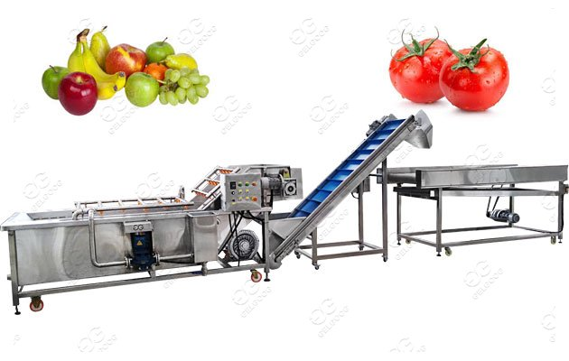 <b>Tomato Washing And Air Drying Machine/ Washer And Dryer Machine </b>