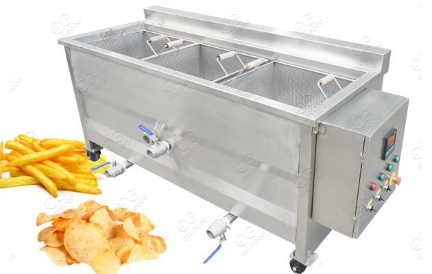 automatic potato ball fryer