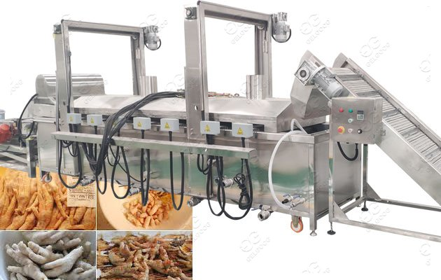 fried chicken feet machine