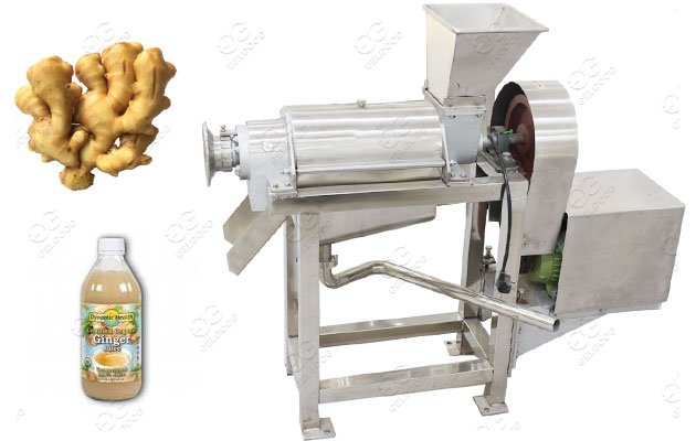 Automatic ginger juice making machine