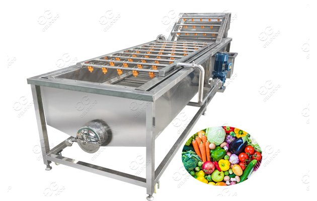 Automatic Fruit and Vegetable Sanitizing Machine