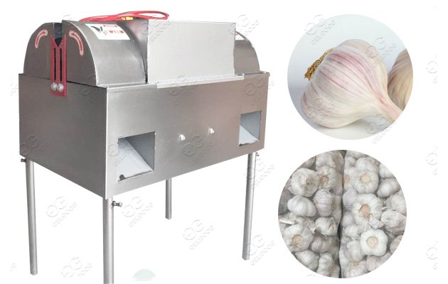 Flat Cutting Model Garlic Root Cutting Machine