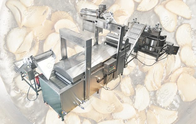 garlic chips production line