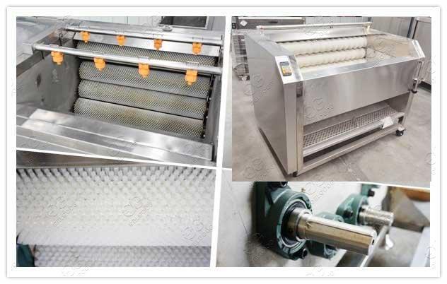 carrot washing and peeling machine for sale